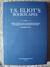 T.S.Eliot's Bookscapes Finely produced Ltd. Edition with fresh material on Eliot