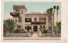 1904 Postcard of the Zorayda Club St Augustine Florida