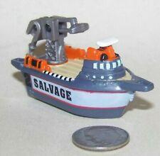 Small Micro Machine Plastic Salvage Ship