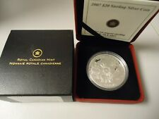 Canada 2007 - 20 Dollar in Silver, Pf - Polar Year