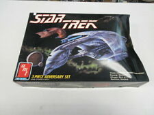 STAR TREK 3 PIECE ADVERSARY SET 1989