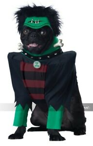 California Costumes Frankenpup Frankenstein Pets Dogs Hallwoeen Costume PET20134