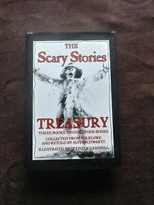 The Scary Stories Treasury, Hardcover Collection Of All 3 Scary Story Books