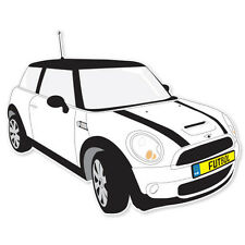 "Mini Cooper S car bumper sticker decal 4"" x 5"""