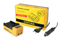 Caricabatteria Synchron LCD USB Patona per Sony HDR-CX700,HDR-CX730,HDR-CX740
