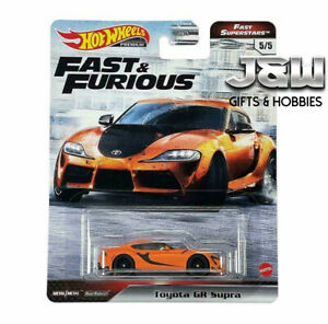 Hot Wheels Toyota Gr Supra Fast And Furious GBW75-956M 1/64