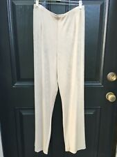 New Soldout Chico's Travelers Mojave Sand No Tummy Pant 3 Short Sh XL 16 18 NWT