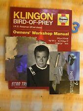 More details for 3 vintage star trek postcards spock lazergram postcard plus klingon workshop...