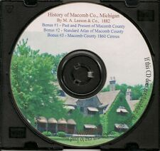 History of Macomb County Michigan + Census Records