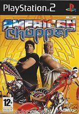 AMERICAN CHOPPER for Playstation 2 PS2 - with box & manual - PAL
