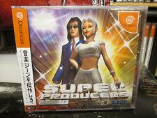 Super Producers (1999, Hudson) Brand New Factory Sealed Japan Dreamcast Game