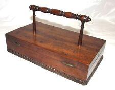Boxes Mahogany Antique Wooden Writing Slopes