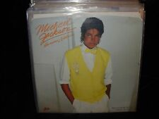 "MICHAEL JACKSON human nature  ( r&b ) 7""/45 picture sleeve PROMO"