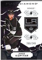 ANZE KOPITAR 2018-19 Upper Deck Black Diamond BLACK card BDB-AK id#209/249