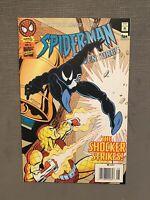 Spider-Man Adventures 9 1st App Animated Black Suit Cameo Venom Newsstand Rare