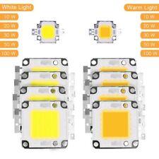 Alta Potencia Chip LED 10W 20W 30W 50W 100W DIY COB LED Diodo Lámpara 12V