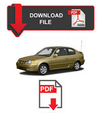 Hyundai Accent 2005 Year Specific Factory Service Repair Workshop Manual