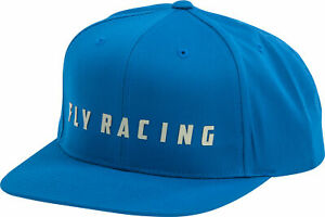 Fly Racing Fly Logo Hat Blue Blue 351-0961
