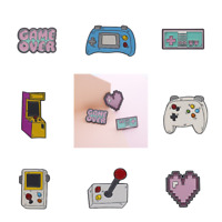 Pin Brooches Badges Backpack Retro Games Different Hard enamel lapel Hat Gamers