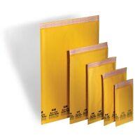 100 #2 Kraft Bubble Mailers Padded Envelopes 8.5X12 Ecolite ELSS2