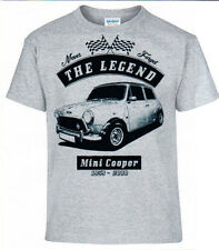 T-Shirt, Mini Cooper, Auto,Oldtimer,Youngtimer