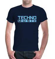 Herren Unisex Kurzarm T-Shirt Techno Music Musikstil Festival Rave