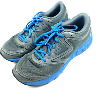 Asics Noosa GS Kids Running Sneakers Gray/Blue Size 7