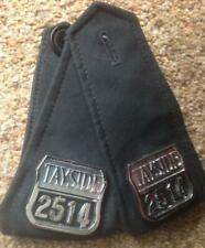British  (Scotland) TAYSIDE  POLICE  Numbers with epaulettes (pair) #2514