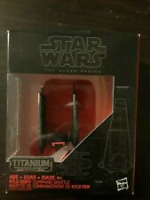 STAR WARS THE BLACK SERIES TITANIUM SERIES KYLO REN'S COMMAND SHUTTLE #03