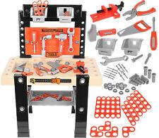 Werkbank Spielzeug Rollenspiel Kinderbank Werkzeugset  mit Zubehör Heimwerker We