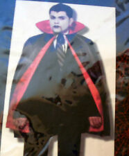 """Medieval Vampire Witch Halloween CAPE with collar ACCESSORY COSTUME 40"""" #Y392"""