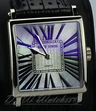 Roger Dubuis White Gold Golden Square 40mm White Mother of Pearl