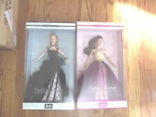 Lot of 2 Designer Barbie Spotlight Collection Katiana Jimenez & Heather Fonseca