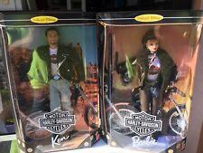 1999 Collectors Edition Ken and Barbie Harley Davidson - Barbie Collectibles