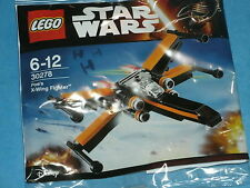 Lego Polybag: #30278 Star Wars Poe Dameron's X-Wing Fighter The Force Awakens