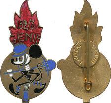 152 - 3 Compagnie du Génie, Mickey, fils dans l'émail, L.Aubert