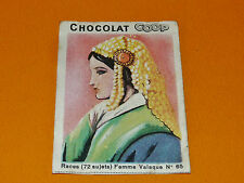 CHROMO CHOCOLATS COOP 1932 RACES EUROPE ROUMANIE ROMANIA VALACHIE VALAQUE