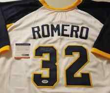 Sierra Romero Signed Auto Michigan Softball Usa Jersey Psa Autographed Finch 32