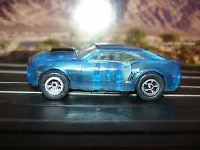 AUTO WORLD ~ '06 Chevy Concept Camaro Ice Blue ~ New in Jewel  ~ FITS AFX, AW