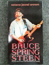 Bruce Springsteen CD Box Set w/Poster Satans Jewel Crown