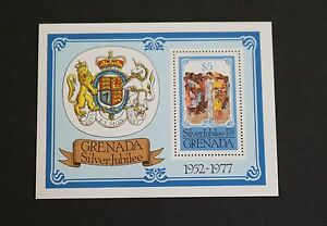 Grenada 1977 Silver Jubilee MS862 miniature sheet MNH UM unmounted mint