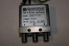 Ducommun RF 2SE1T11JC Relay SMA DC to 26.5 GHz 12 V DC Improved 2SE1T11JB