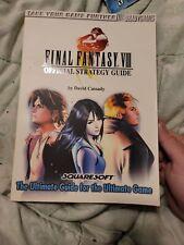 FINAL FANTASY VIII 8 Official Strategy Guide by David Cassady Brady Games