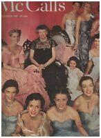 McCall's Magazine December 1949 Eleanor Roosevelt Margaret Mitchell