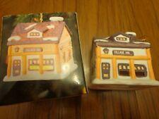 Dickens Village - Village Inn Bell Lite Mini Tree Light cover Bisque Porcelain
