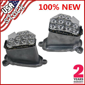 left & Right Turn Signal LED Headlight Module 63117271901/2 For BMW 5 F10 F18