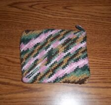 Earth colored hand crocheted potholders. Set of 1!