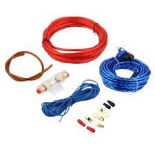 Câble RCA Voiture Audio Wire Connecteur 8GA Amplificateur Installation Kit