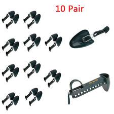 10 Pair Adjustable Form Plastic Shoe Tree Shaper Keeper Men Boot Shoe Stretcher