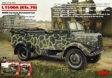 DAIMLER-BENZ (MERCEDES) L 1500A / KFZ 70 W/OPEN TOP (WEHRMACHT MKGS) 1/35 ICM